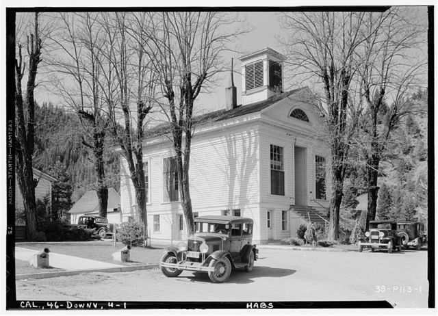 Downieville Courthouse, Downieville, Sierra County, CA