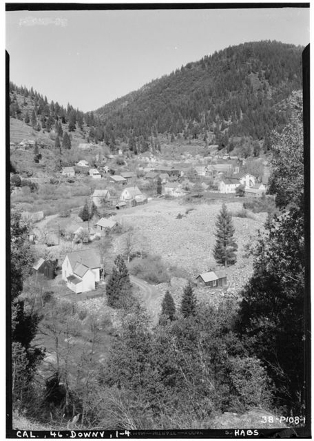Downieville, General View, Downieville, Sierra County, CA