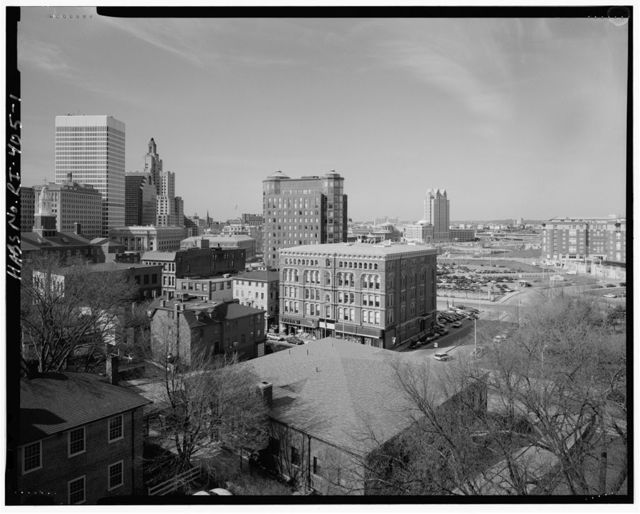 Downtown Providence, Roughley bounded by Woonasquatucket River, Providence River, Interstate Highway 195, & Interstate Highway 95, Providence, Providence County, RI
