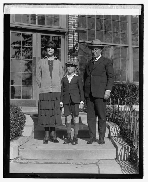 Dr. Ensebro Ayala with wife and son, 1/21/25