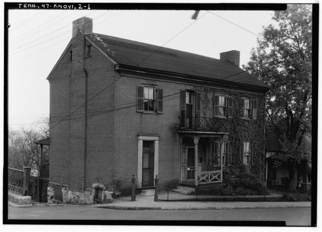 Dr. George Jackson House, State Street & Hill Avenue, Knoxville, Knox County, TN
