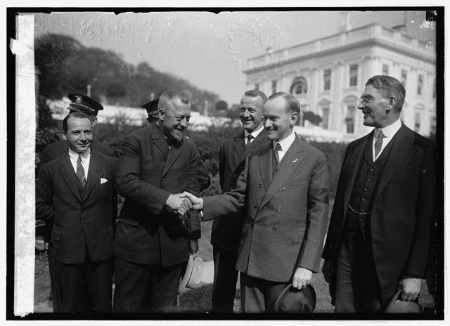 Dr. Hugo Eckener, Coolidge, Wilburn, 10/16/24