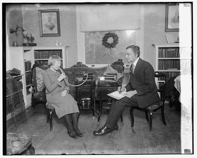 Dr. J.P. Harrington of Smithsonian with White Indians, 12/31/24