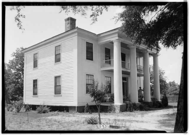 Dr. Levi Thomas House, Broad Street (moved from 134 Livingston Street), Eufaula, Barbour County, AL