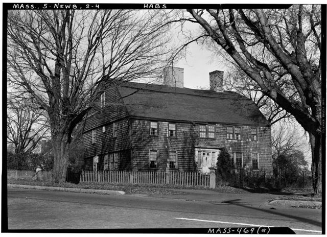 Dr. Peter Toppan House, 5 High Road, Newbury Old Town, Essex County, MA