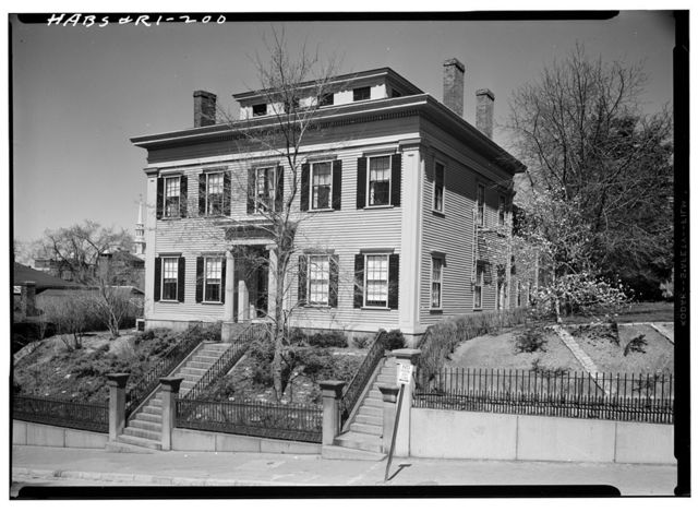 Dr. William J. King House, 48 College Street, Providence, Providence County, RI