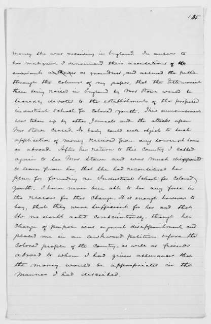 Drafts of Douglass' Autobiography - p. 357