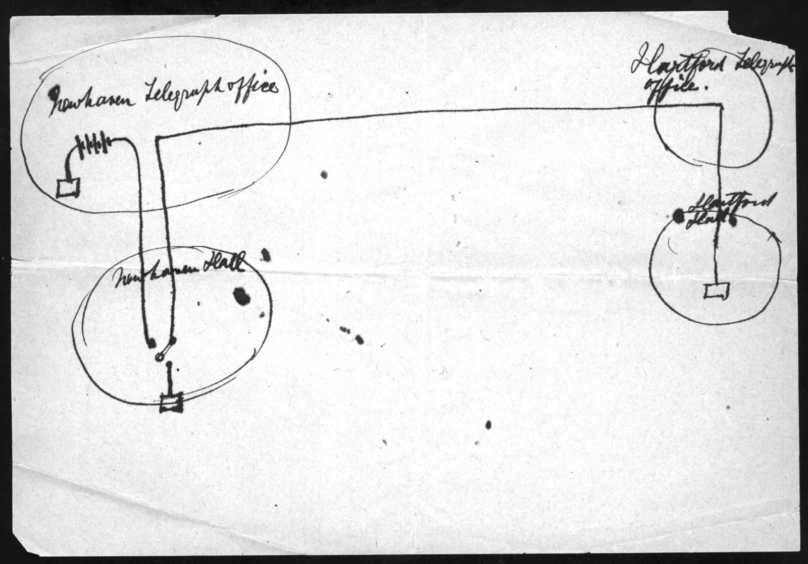 Drawing by Alexander Graham Bell, undated