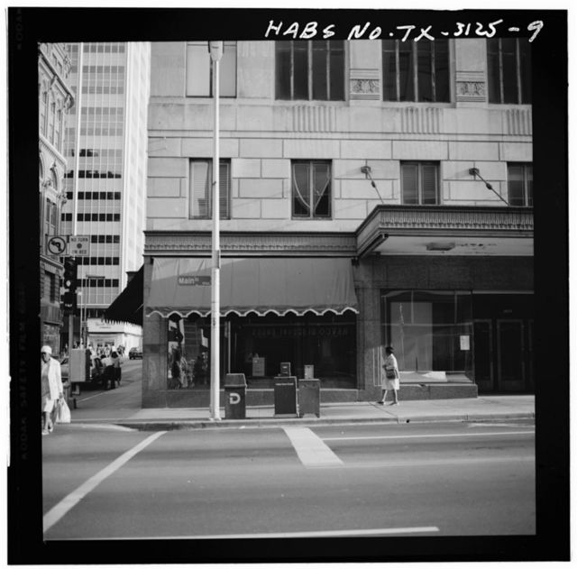 Dreyfuss & Son Store, Main & Ervay Streets, Dallas, Dallas County, TX