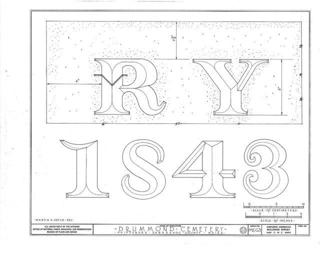 Drummond Cemetery, State Routes 209 & 216, Phippsburg, Sagadahoc County, ME