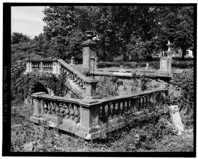 Drumthwacket, Italianate Garden, 344 Stockton Street (U.S. Route 206), Princeton, Mercer County, NJ