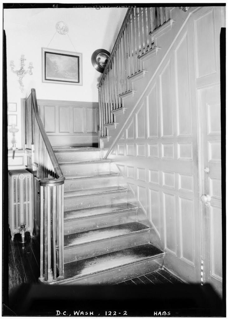 Duddington Mansion, First & Second & E & F Streets, Southeast, Washington, District of Columbia, DC