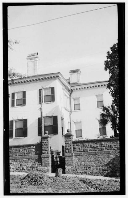 Dudley Mansion House, South Front & Nun Streets, Wilmington, New Hanover County, NC