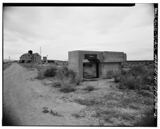 Dugway Proving Ground, German-Japanese Village, German Village, South of Stark Road, in WWII Incendiary Test Area, Dugway, Tooele County, UT
