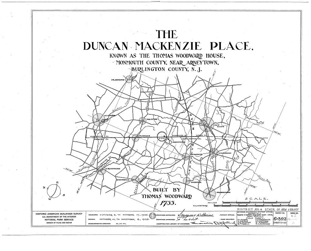 Duncan Mackenzie Place, Province Line Road, Arneytown, Monmouth County, NJ