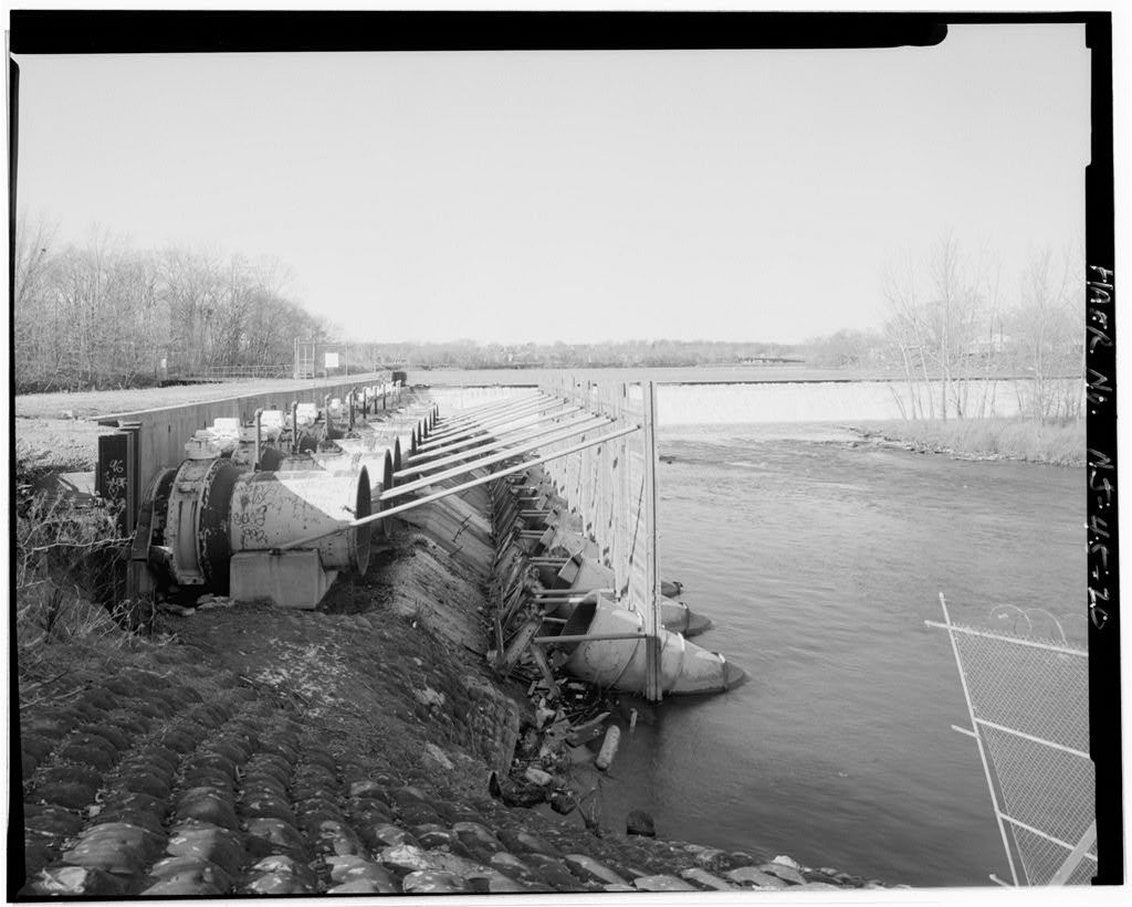 Dundee Canal, Headgates, Guardlock & Uppermost Section, 250 feet northeast of Randolph Avenue, opposite & in line with East Clifton Avenue, Clifton, Passaic County, NJ