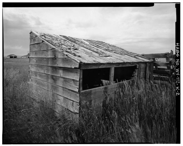 Dunlap Ranch, Chicken Coop, Gillette, Campbell County, WY