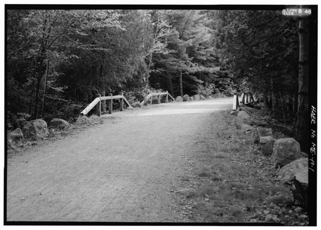 Eagle Lake Little Bridges, Spanning Duck Brook & Breakneck Brook on Eagle Lake Carriage Road, Bar Harbor, Hancock County, ME