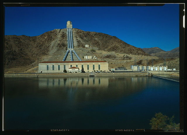 Eagle Mountain Pump Plant, Ten miles north of Route 10, southeast of Eagle Mountain, Eagle Mountain, Riverside County, CA