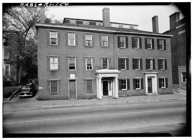Earle D. Pearce House, 225-227 Benefit Street, Providence, Providence County, RI