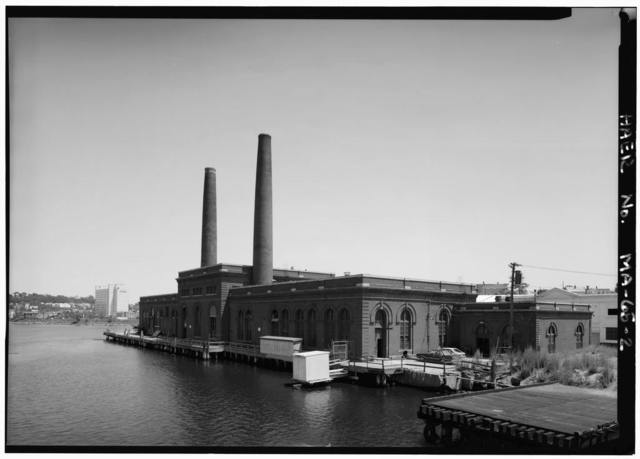 East Boston Pumping Station, Chelsea Street at Chelsea Creek, Boston, Suffolk County, MA