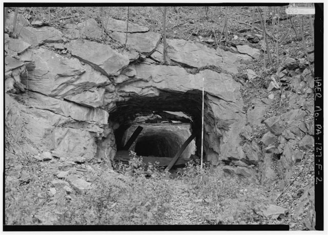 East Broad Top Railroad & Coal Company, Sideling Hill Tunnel, Rockhill Furnace, Huntingdon County, PA