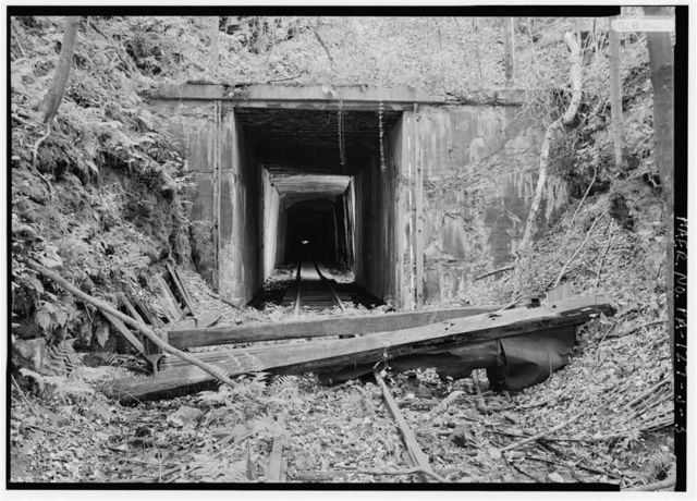East Broad Top Railroad & Coal Company, Wray's Hill Tunnel, Rockhill Furnace, Huntingdon County, PA