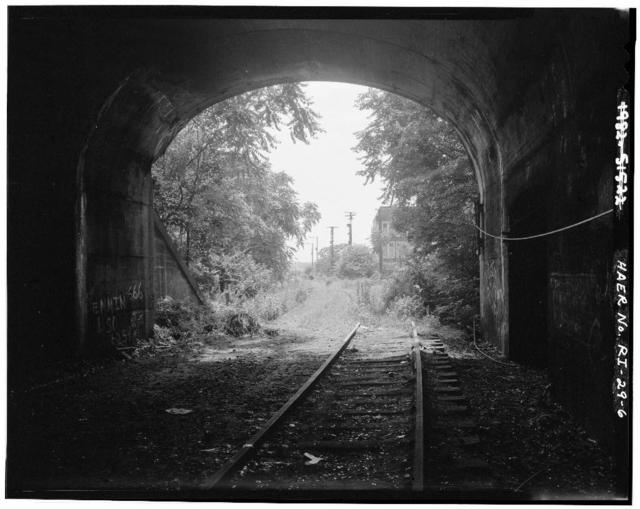 East Side Railroad Tunnel, Benefit Street to Seekonk River, Providence, Providence County, RI