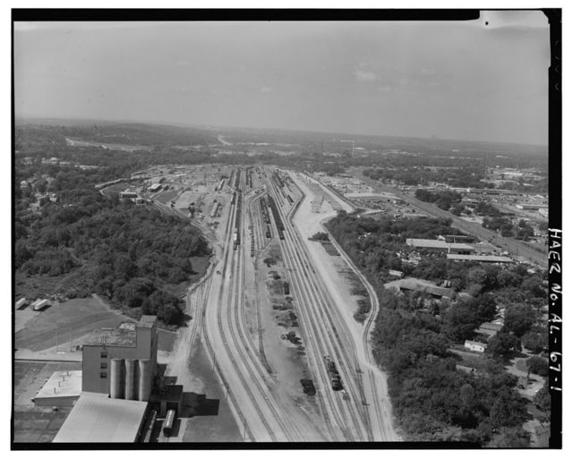 East Thomas-Frisco Railroad Yards, Bounded by U.S. 78, Finley Avenue, I-65, Birmingham, Jefferson County, AL