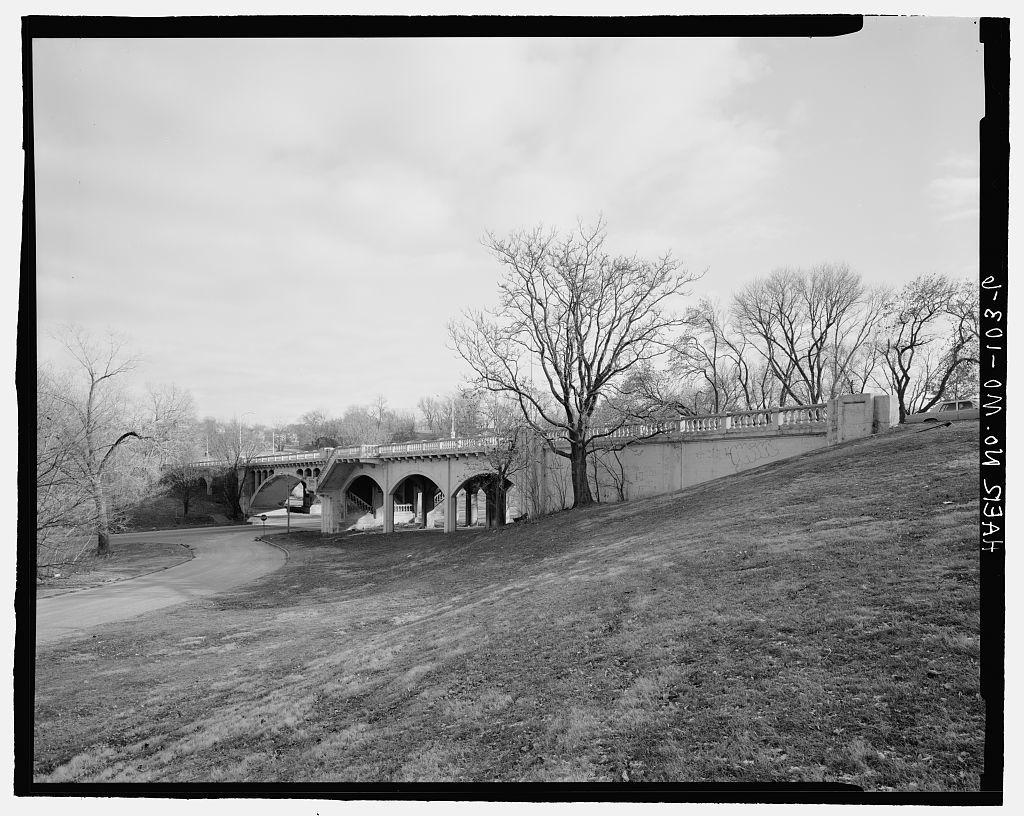 East Twenty-seventh Street Viaduct, Spanning Vine Street, Kansas City, Jackson County, MO