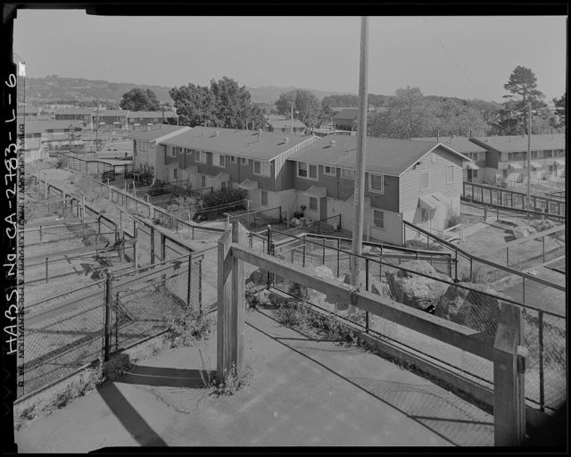 Easter Hill Village, Building No. 19, West side of South Twenty-Sixth Street, north of Hinkley Avenue, Richmond, Contra Costa County, CA