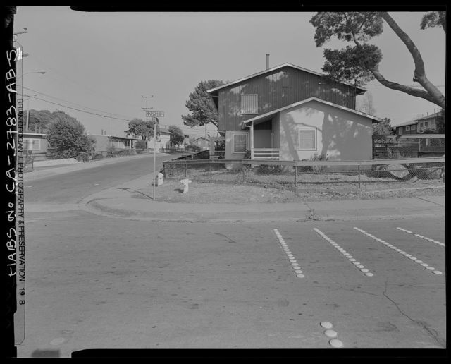 Easter Hill Village, Building No. 35, Southeast corner of Foothill Avenue & South Twenty-sixth Street, Richmond, Contra Costa County, CA