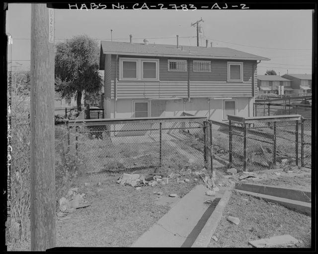 Easter Hill Village, Building No. 43, West side of South Twenty-eighth Street, north of Foothill Avenue, Richmond, Contra Costa County, CA