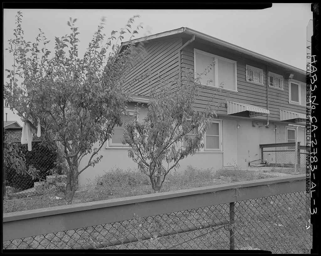 Easter Hill Village, Building No. 45, East side of South Twenty-eighth Street, south of Foothill Avenue, Richmond, Contra Costa County, CA
