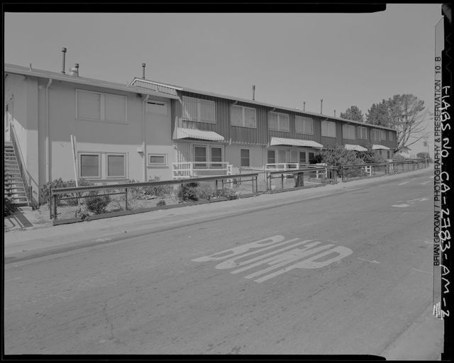 Easter Hill Village, Building No. 46, West side of South Twenty-eighth Street, north of Hinkley Avenue, Richmond, Contra Costa County, CA