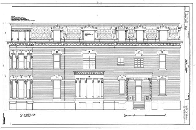 Easton House, 1125 Main Street, Peoria, Peoria County, IL