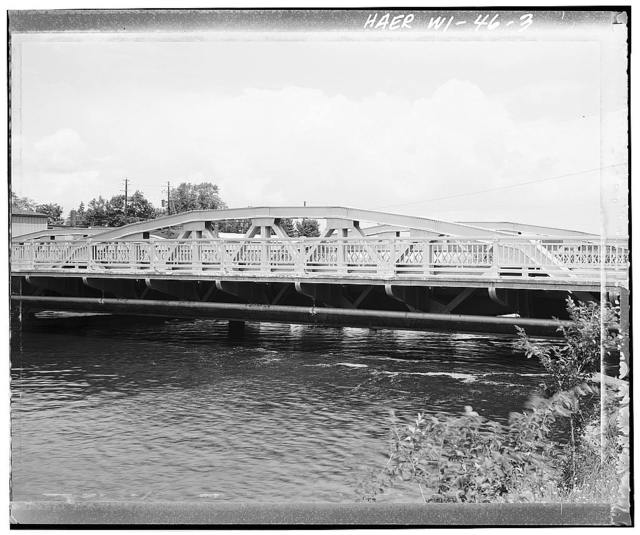 Eau Claire River Bridge, Spanning Eau Claire River, on U.S. Highway 51B, Schofield, Marathon County, WI