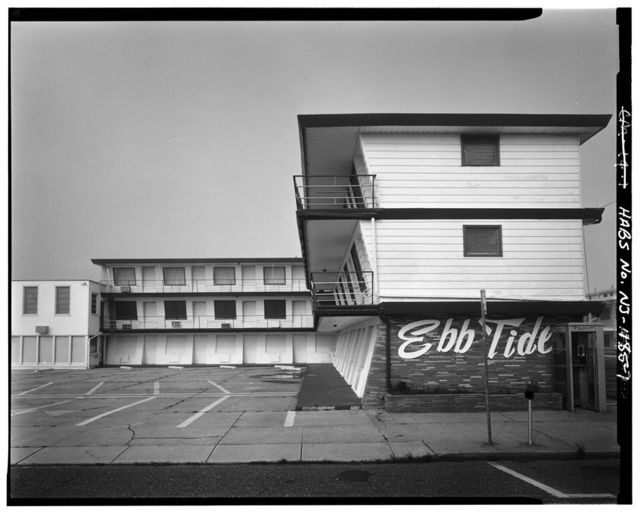 Ebb Tide Motel, 5711 Atlantic Avenue, Wildwood, Cape May County, NJ