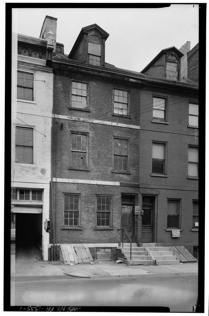 Eber Hilyard House, 427 Lombard Street, Philadelphia, Philadelphia County, PA