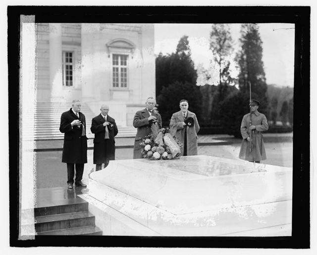 Edw. S. Schmid, Ed. W. Libbey, Judge T.P. Walther, A.P. Fenton, 11/16/27