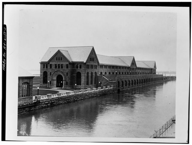 Edward D. Adams Station Power Plant, Niagara River & Buffalo Avenue, Niagara Falls, Niagara County, NY