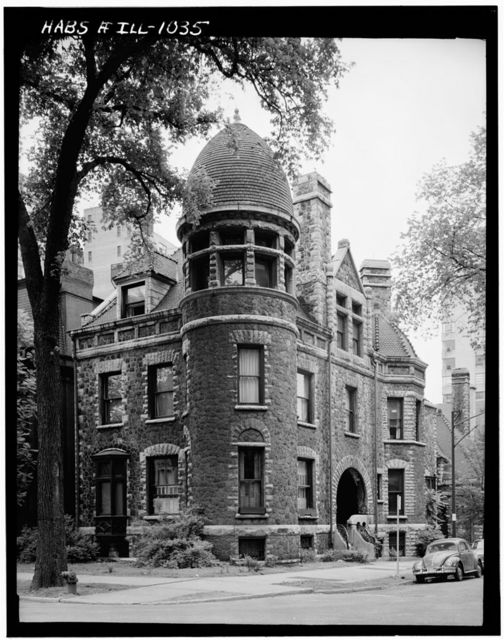 Edward E. Ayer House, 2 East Banks Street, Chicago, Cook County, IL