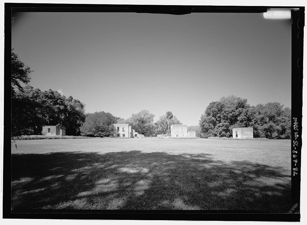 Edward House & Dependencies (Ruins), Old House Road, Spring Island, Pinckney Landing, Beaufort County, SC