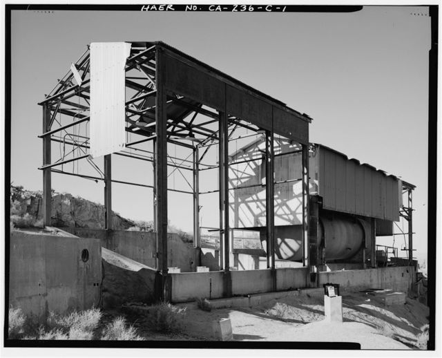 Edwards Air Force Base, Air Force Rocket Propulsion Laboratory, Fuel & Water Tank, Test Area 1-115, northwest end of Saturn Boulevard, Boron, Kern County, CA