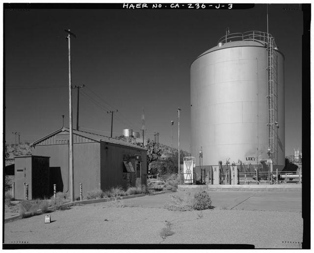Edwards Air Force Base, Air Force Rocket Propulsion Laboratory, Liquid Oxygen & Nitrogen Storage Tank Farm, Intersection of Altair & Jupiter Boulevards, Boron, Kern County, CA