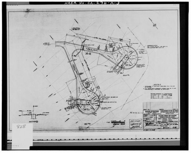 Edwards Air Force Base, Air Force Rocket Propulsion Laboratory, Missile Silo Type, Test Area 1-100, northeast end of Test Area 1-100 Road, Boron, Kern County, CA