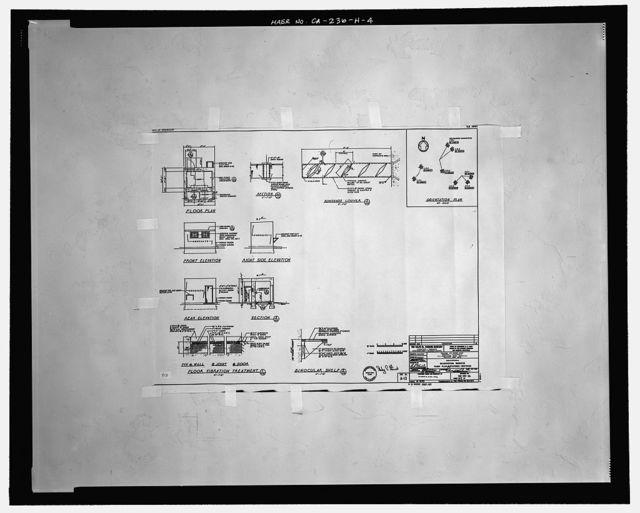 Edwards Air Force Base, Air Force Rocket Propulsion Laboratory, Observation Bunker 1-D-3, Test Area 1-125, northwest end of Altair Boulevard, Boron, Kern County, CA