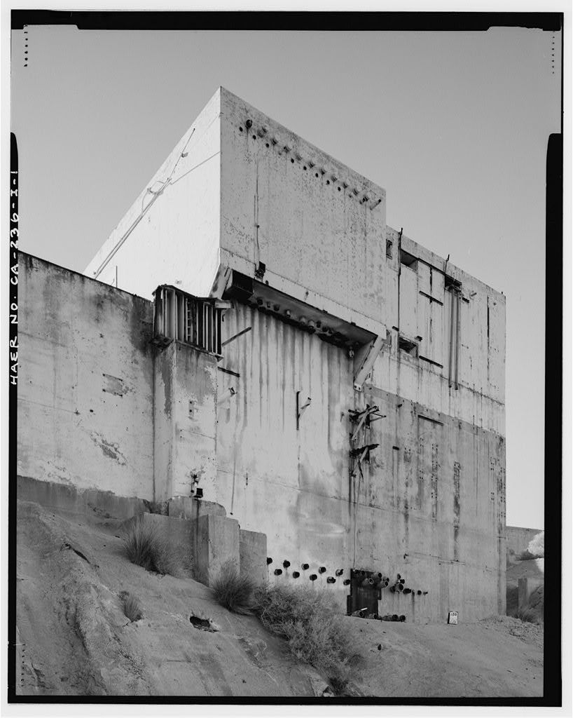Edwards Air Force Base, Air Force Rocket Propulsion Laboratory, Test Stand 1-4, Test Area 1-115, northwest end of Saturn Boulevard, Boron, Kern County, CA