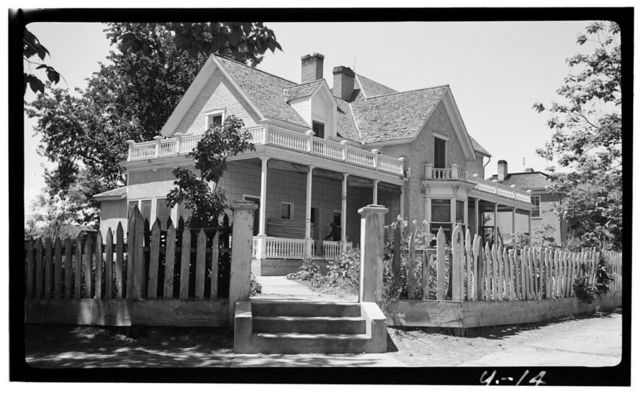 Edwin G. Woolley House, 217 North 100 West Street, Saint George, Washington County, UT