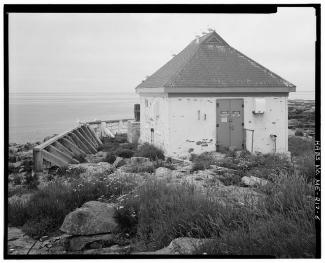 Egg Rock Light Station, At entrance to Frenchman Bay, Winter Harbor, Hancock County, ME